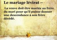 Le Lévirat,  une violence faite à la femme